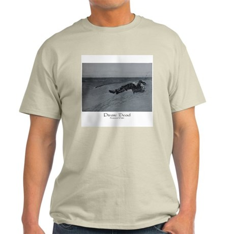 Howard Pyle Pirate Dead Ash Grey T-Shirt