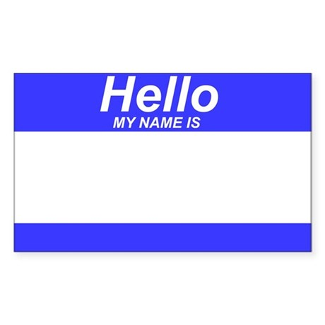 Generic - Hello My Name Is