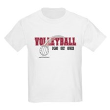 Volleyball: Pass Set Spike Kids T-Shirt