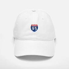 Interstate 95 - CT Baseball Baseball Cap