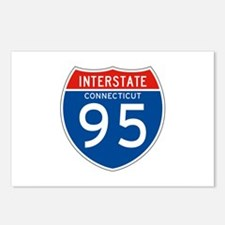 Interstate 95 - CT Postcards (Package of 8)