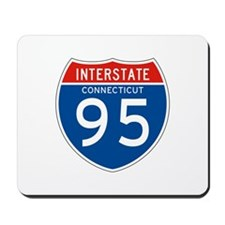 Interstate 95 - CT Mousepad