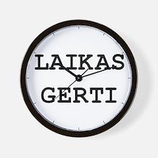 Laikas Gerti Wall Clock