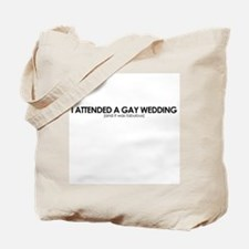 Gay Wedding Attendant Tote Bag