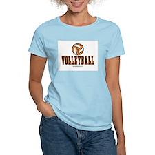Volleyball Women's Pink T-Shirt