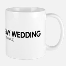 Gay Wedding Attendant Mug