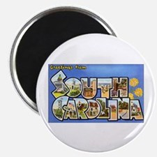 South Carolina Greetings Magnet