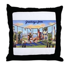 Tennessee Greetings Throw Pillow