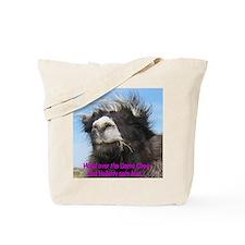 Llama Chow Tote Bag