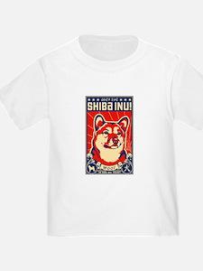 SHIBA INU! Baby/Toddler Propagnda T-Shirt
