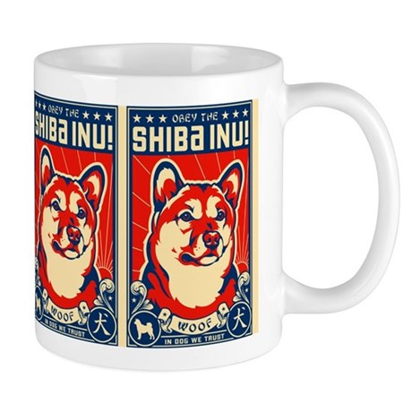 Obey the SHIBA INU! Coffee Mug