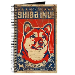 Obey the SHIBA INU! - Retro Journal
