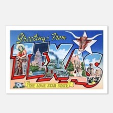 Texas Greetings Postcards (Package of 8)
