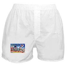 Texas Greetings Boxer Shorts