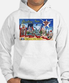 Texas Greetings (Front) Hoodie