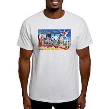 Texas Greetings Ash Grey T-Shirt