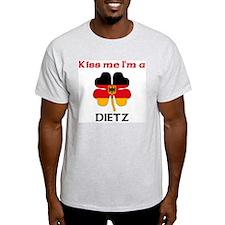 Dietz Family Ash Grey T-Shirt