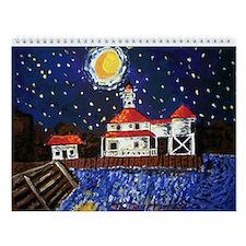 New Orleans Art Wall Calendar
