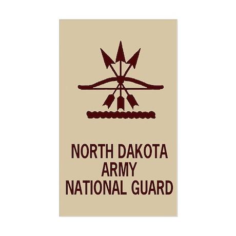 North Dakota National Guard Sticker