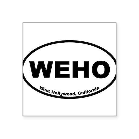 West Hollywood, California Sticker