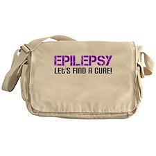 Epilepsy Lets Find A Cure! Messenger Bag