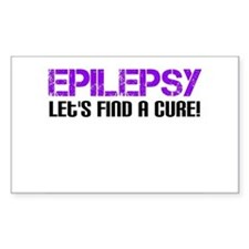 Epilepsy Lets Find A Cure! Decal