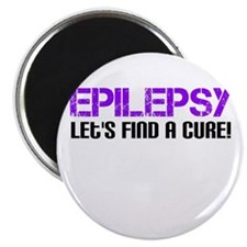 Epilepsy Lets Find A Cure! Magnet