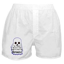 Just Scream! Boxer Shorts