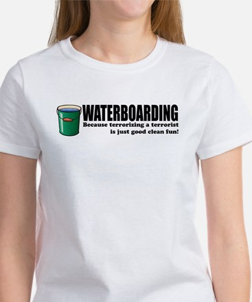Waterboarding Women's T-Shirt