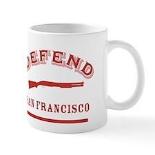 Defend San Francisco - GG Bridge Mug