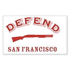 Defend San Francisco - GG Bridge Decal