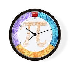 PI Circle Wall Clock
