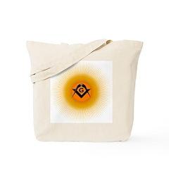 Masonic Sunny Blue Lodge Tote Bag