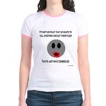 What zombies do Jr. Ringer T-Shirt