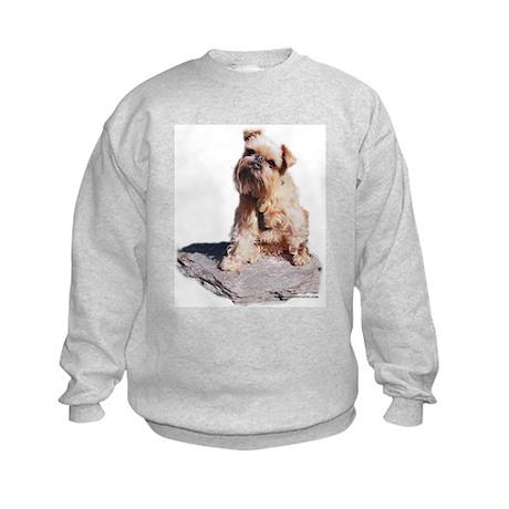 Rocky Brussels Griffon Kids Sweatshirt
