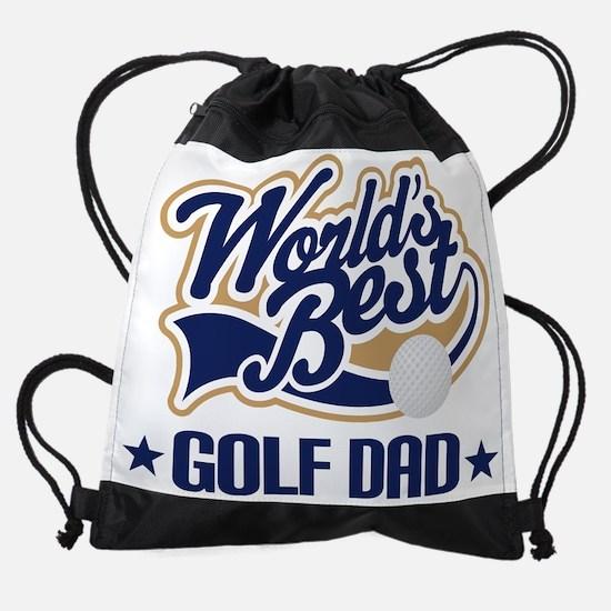 Golf Dad (Worlds Best) Drawstring Bag