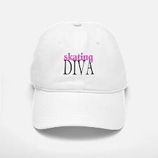 Skating Diva Baseball Baseball Cap
