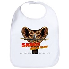 Snakes On The Plane Bib