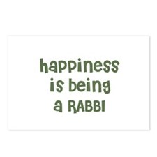 Happiness is being a RABBI Postcards (Package of 8