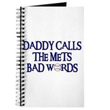 Daddy Calls The Mets Bad Words Journal
