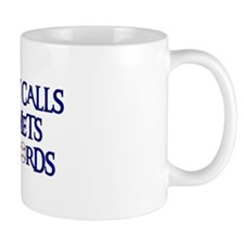 Daddy Calls The Mets Bad Words Mug