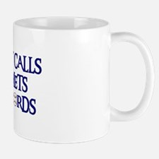 Daddy Calls The Mets Bad Words Mug