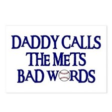 Daddy Calls The Mets Bad Words Postcards (Package