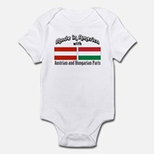 Austrian & Hungarian Parts Infant Bodysuit