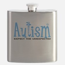 Autism Expect the Unexpected Flask