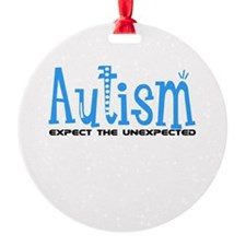Autism Expect the Unexpected Ornament