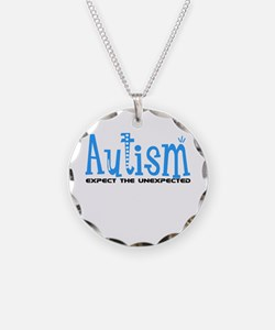 Autism Expect the Unexpected Necklace