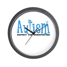 Autism Expect the Unexpected Wall Clock