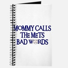 Mommy Calls The Mets Bad Words Journal