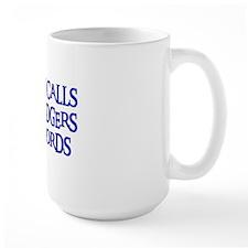 Daddy Calls The Dodgers Bad Words Mug
